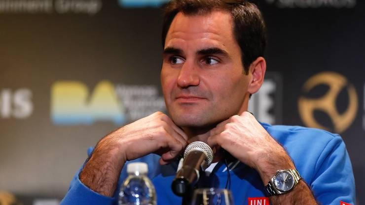 Roger Federer ist sich seiner Vorbildsfunktion bewusst.