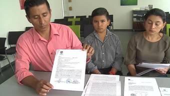 Die Familie Mangandi Garcias flüchtete wegen Morddrohungen von El Salvador in die Schweiz. In Untersiggenthal begannen sie ein neues Leben.