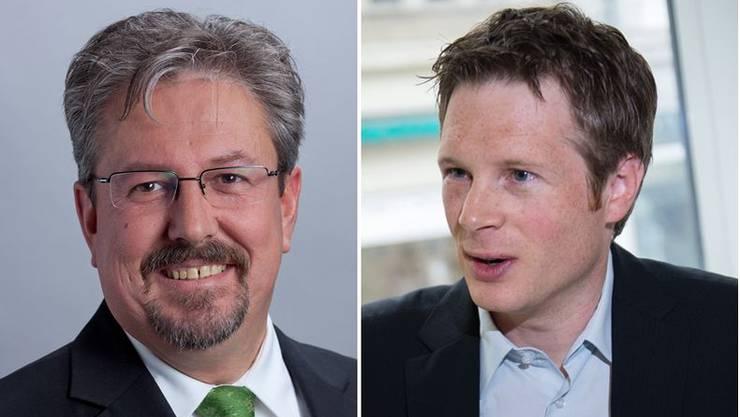 «Ich zittere nicht um meinen Sitz und sehe keinen Anlass, nun mit den Grünen die Kräfte zu bündeln, wie es Jonas Fricker vorschlägt», sagt GLP-Nationalrat Beat Flach (links).