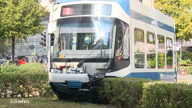 Unfallserie bringt VBZ in Bredouille