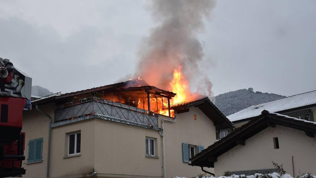 Beim Brand entstand erheblicher Sachschaden