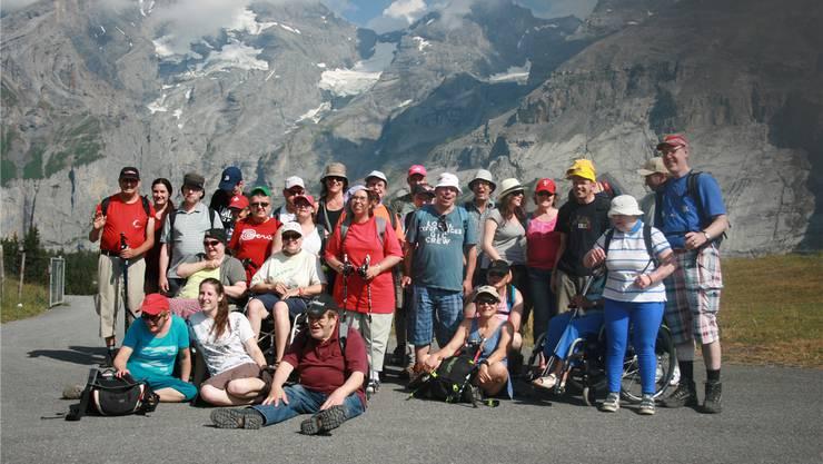 Ferien in schönster Berglandschaft bei besten Wetterverhältnissen: Das Insieme Sommerlager fand im Berner Oberland statt.