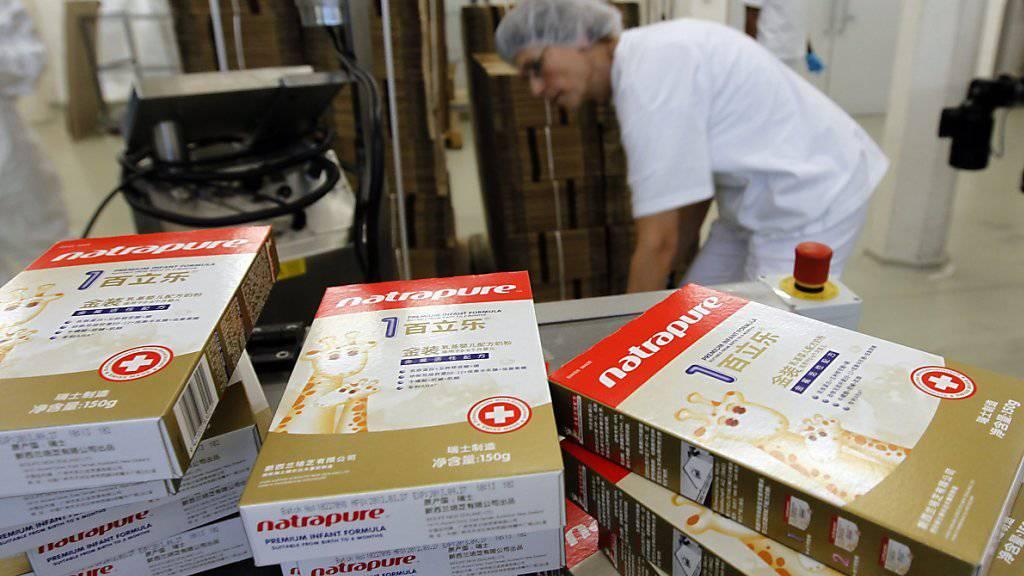 Schwierige Situation am Schweizer Milchmarkt - Erfolg im Bereich Baby Care: Milchverarbeiter Hochdorf erwirtschaftet mehr Gewinn im ersten Halbjahr. (Archivbild)