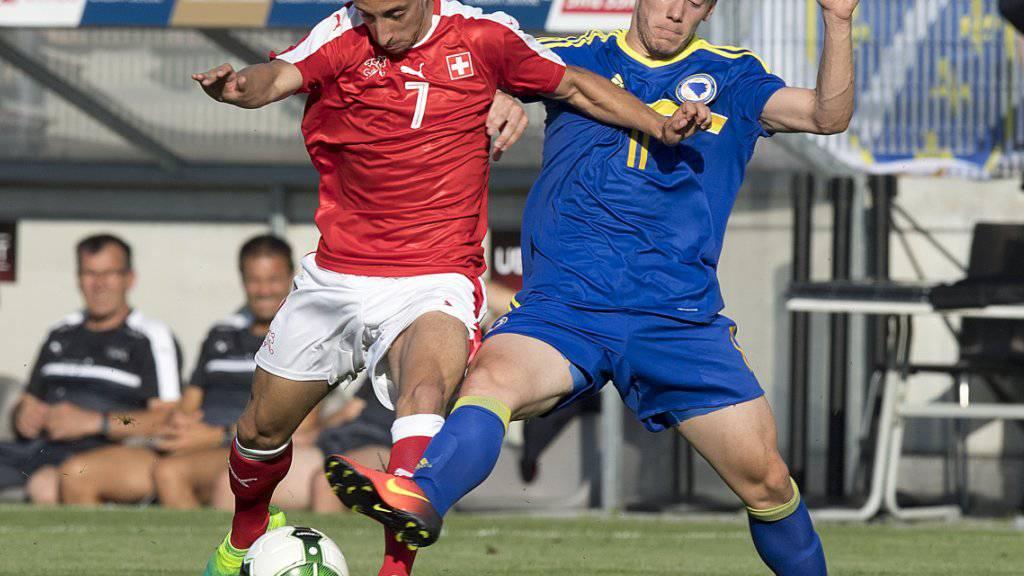 Der Schweizer U21-Nationalspieler João Oliveira verlässt die Schweizer Super League