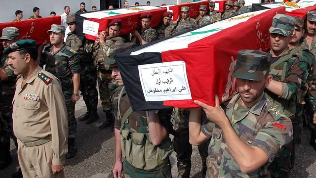 Auch die offizielle Seite hat in Syrien Verluste zu beklagen (Archiv)