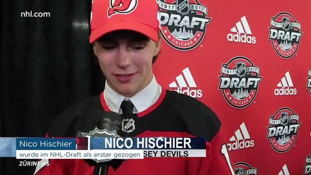 Nico Hischier ist begehrtester Nachwuchs-Eishockeyspieler