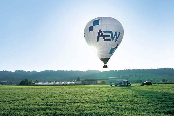 4.+ 5. Platz: Fahrt im AEW Heissluftballon im Wert von je CHF 400.–.