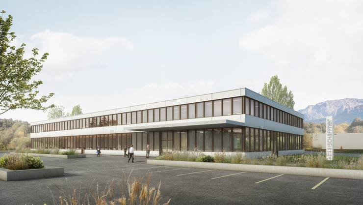 So sieht der neue Schaffner Hauptsitz in Luterbach aus.