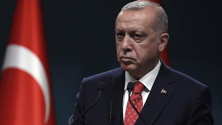 Die türkische Regierung unter Recep Tayyip Erdogan wies einen Entscheid des italienischen Parlaments zur Armenien-Frage als bedauernswert zurück. (Archivbild)
