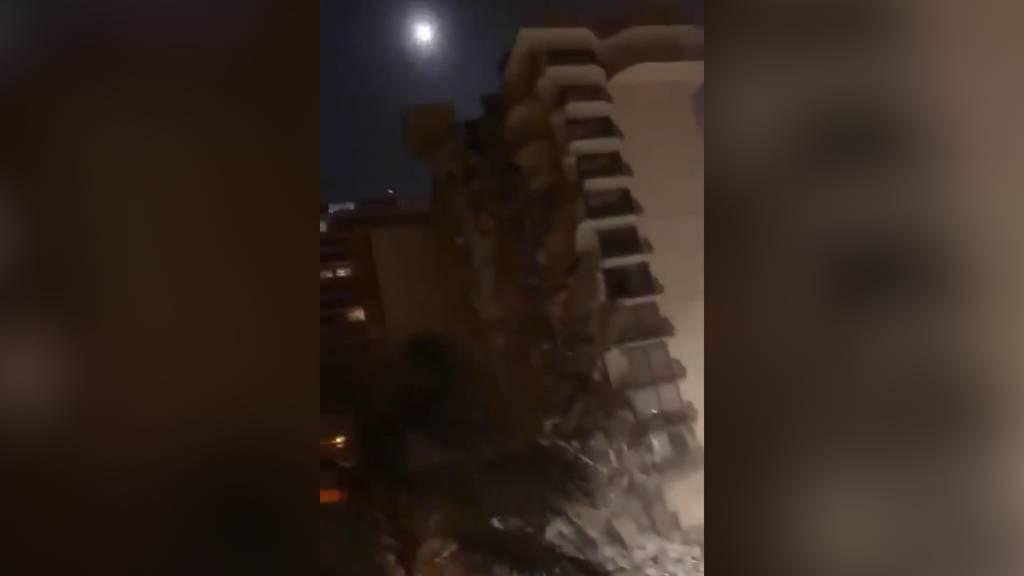 Haus in Miami eingestürzt: Menschen schreien unter den Trümmern