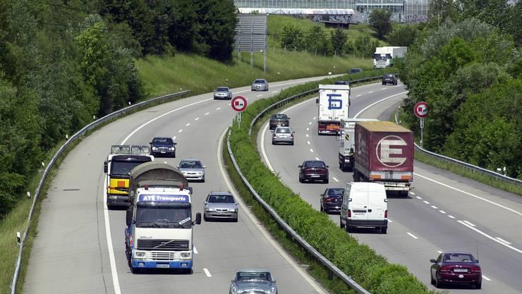 Autobahn bei Wangen a/A: Die Verkehrsprobleme am Jurasüdfuss müssen gemeinsam angegangen werden.