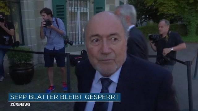 Sepp Blatter bleibt gesperrt