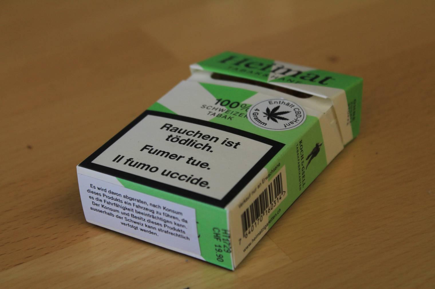 «Eine normale Zigarette mit Geschmack», sagt die St.Galler Kantonsärztin (Bild: FM1Today/Lara Abderhalden).