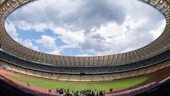 Blick in das Olympiastadion von Kiev, Ukraine (Archiv)