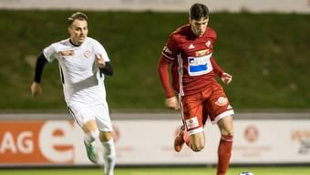 Der FC Baden besiegt den FC Kosova gleich mit 4:0.