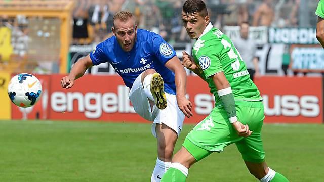 Scheiterte mit Mönchengladbach schon in Runde 1: Granit Xhaka