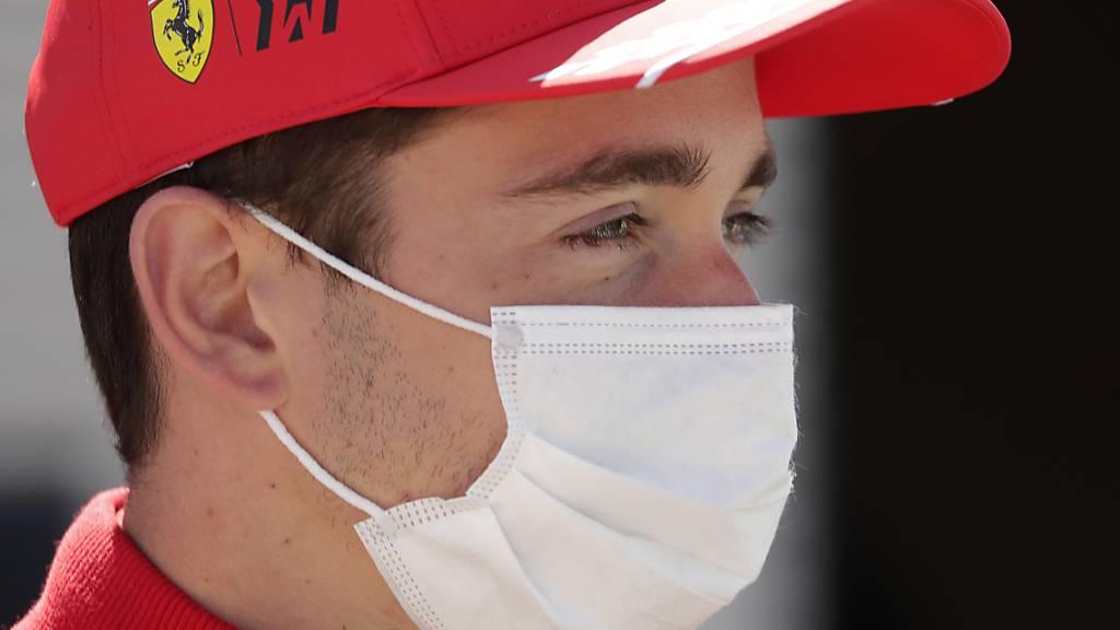 Charles Leclerc fährt am ersten Trainingstag in Monte Carlo die beste Rundenzeit