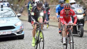Roland Thalmann (links) bestreitet mit der Tour de Romandie seine erste grosse Rundfahrt.