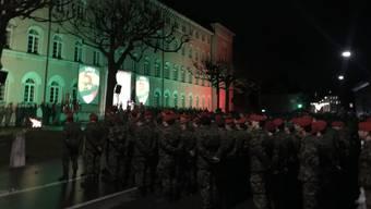 Armee-Feierlichkeiten in Aarau 08.12.17