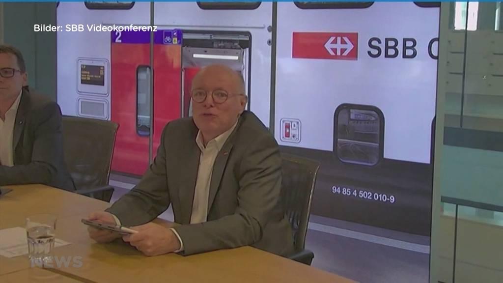 Neuer SBB-Chef: Wechsel mitten in der Krise