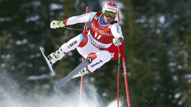 Skirennfahrer Beat Feuz ist ein vielversprechender Kandidat für die grossen Abfahrten im Januar.