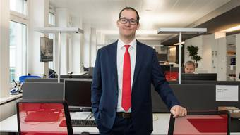 Thomas Wettstein ist der CEO des IT-Unternehmens Avectris – und neu auch von Logicare. (Bild: Alex Spichale)