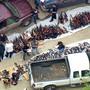 Mehr als 1000 Gewehre und viel Munition: In einer Villa in einem Nobelviertel von Los Angeles hob die Polizei im Mai ein riesiges Waffenarsenal aus.