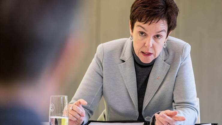 In der Kritik: Der Baselbieter Bildungsdirektorin Monica Gschwind wird fehlendes Engagement vorgeworfen.