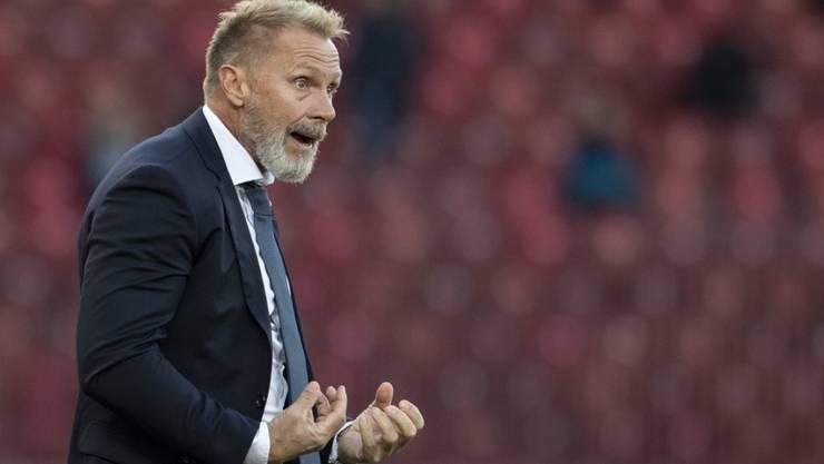 Ist dringend auf Punkte angewiesen: GC-Trainer Thorsten Fink