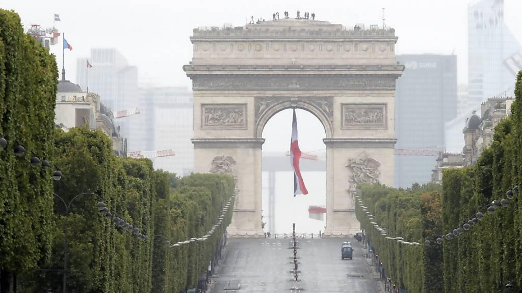 Französische Wirtschaft schrumpft massiv - Minus 13,8 Prozent