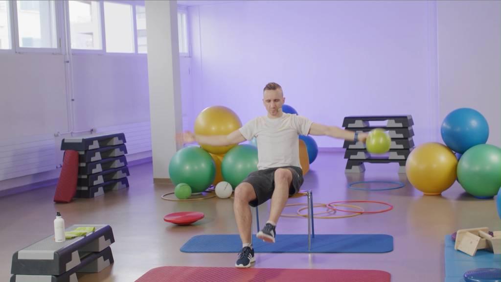 «Gymnastik im Wohnzimmer» vom 1. April 2021