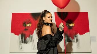 Statt im Laden zu kaufen gratis online: Rihannas neuestes Werk «Anti» wurde ohne grosses Brimborium über Nacht ins Internet gestellt.Christopher Polk/Universal Music