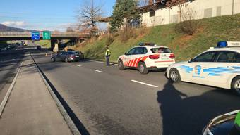 Einbrecherjagd der Aargauer Polizei am 24. November 2018