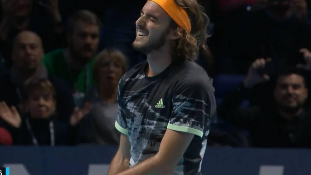 Stefanos Tsitsipas gewinnt die ATP Finals 2019