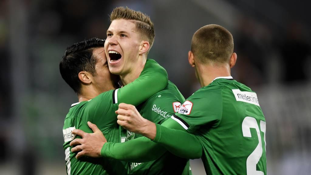 FC St.Gallen besiegt Xamax 4:1 – «das gibt Selbstvertrauen»