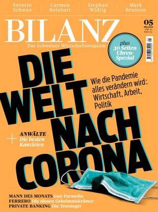 Allwissend: Cover der aktuellen «Bilanz».