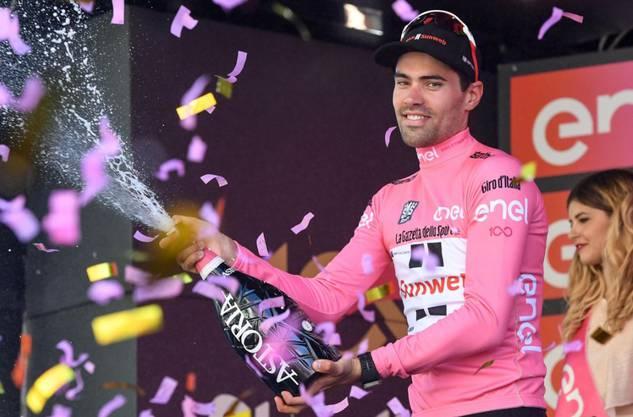 Der Niederländer Tom Dumoulin feierte mit dem Giro-Gesamtsieg im letzten Jahr einen grossen Erfolg.