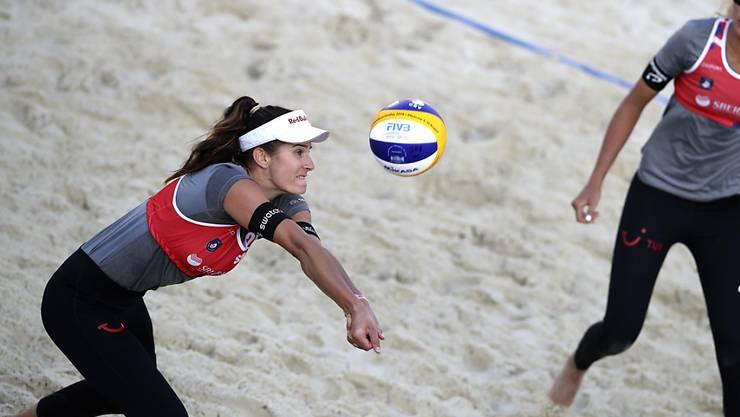 Joana Heidrich (links) und Anouk Vergé-Dépré (rechts) befinden sich auf Kurs für Olympia 2020 in Tokio