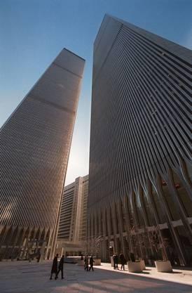 Die Twin Towers vor den Anschlägen