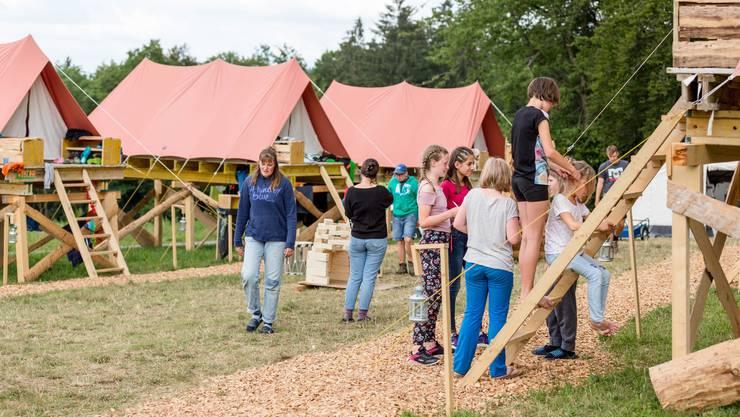 Die Jugendorganisation Jungwacht Blauring Bern (kantonale Jubla) führt vom 7. bis 19. Juli ihr kantonales Sommerlager (KASOLA) durch.