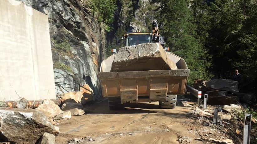 Die Räumungsarbeiten dauerten kürzer als ursprünglich geplant.