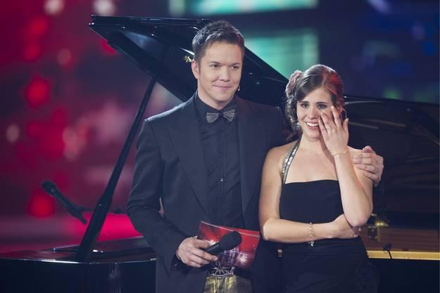 Moderator Sven Epiney mit Eliane