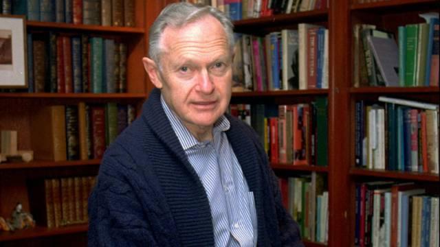 Autor Sherwin Nuland in einer Aufnahme von 1996 (Archiv)