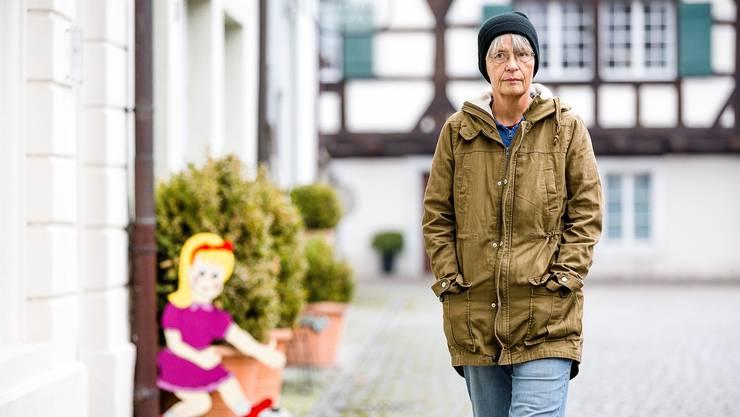 Einst Schulleiterin, Gemeinderätin und Hauptmann in der Schweizer Armee – diesen Sommer plötzlich Häftling: Martina Hess in Bremgarten.