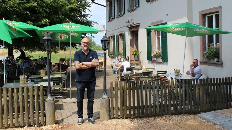 Neues Leben auf dem Predigerhof: Tom Wiederkehr liegt ein wertschätzender Umgang mit Lebensmitteln am Herzen.