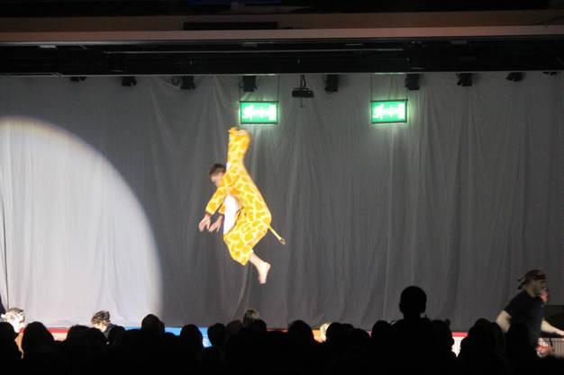 Selbst Giraffen können fliegen