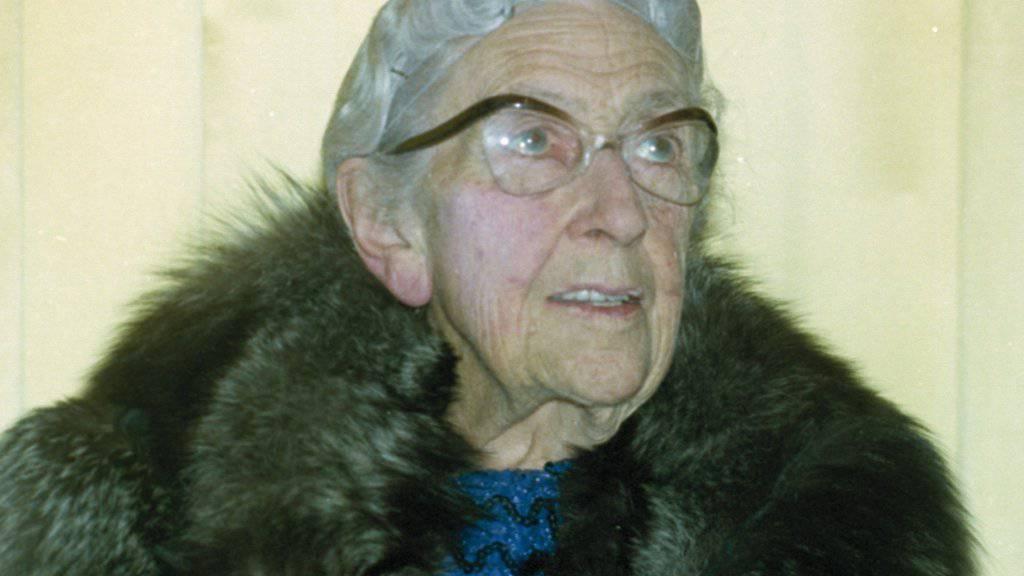 Agatha Christie (1890-1976) ist nach wie vor ein Magnet für Krimifreunde (Archiv) i