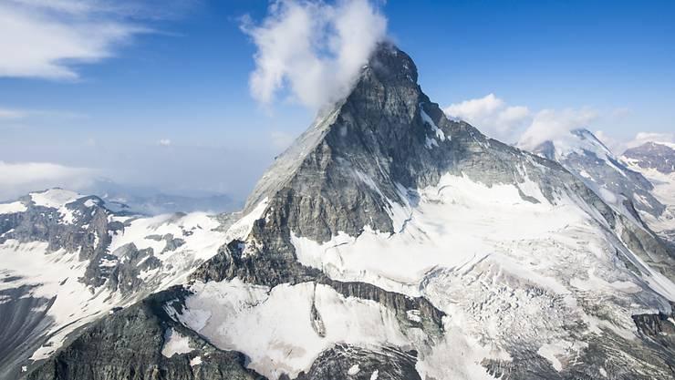 Die Spitze des Matterhorns liegt auft 4478 M. ü. M.