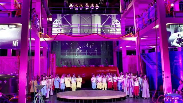 Bühnenbild von Tannhäuser in Bayreuth