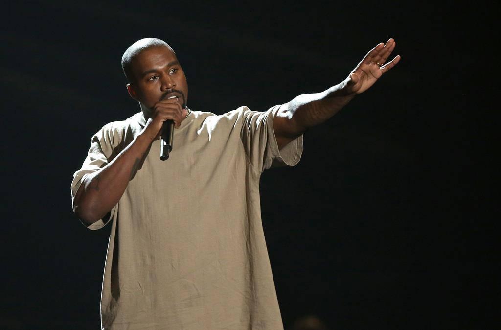 Kanye West provoziert (© Keystone)